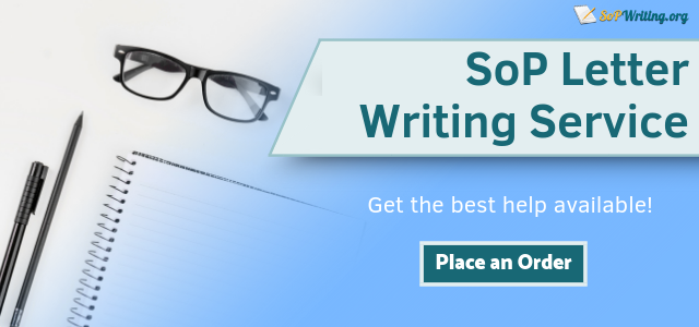 sop letter writing service