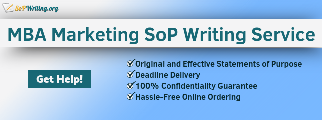 sop marketing writing service
