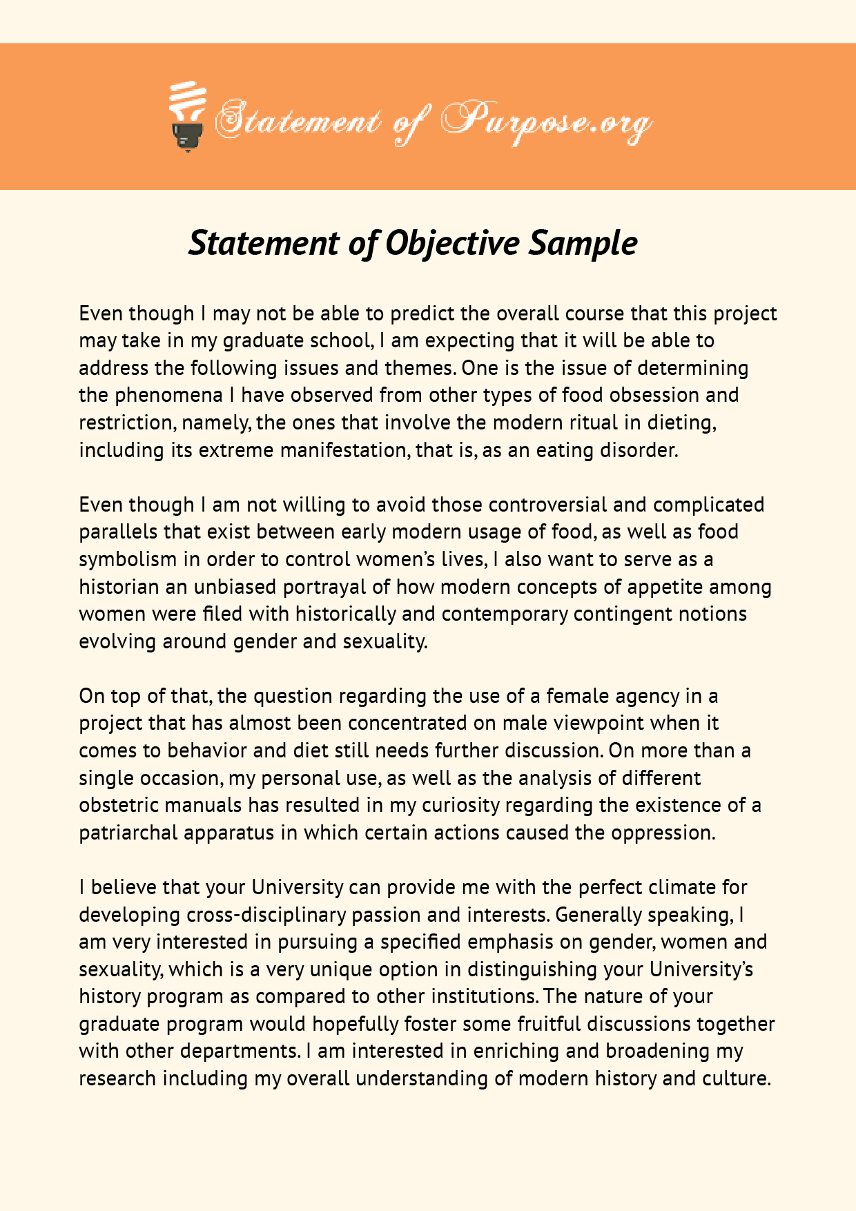 Writing An Impressive Academic Statement Of Objective With Us
