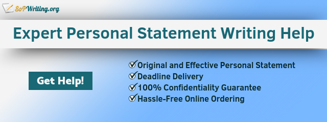 help writing personal statement online