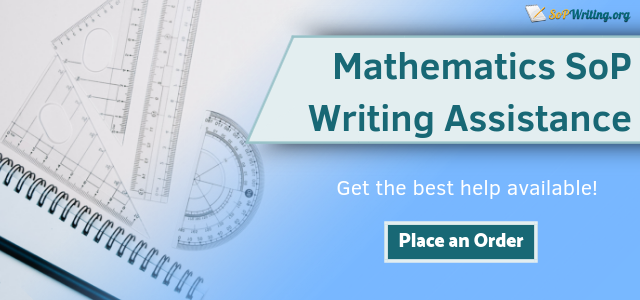 math statement of purpose writing service