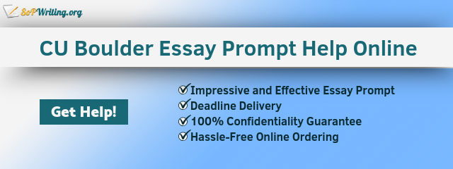 university of colorado boulder essay writing help