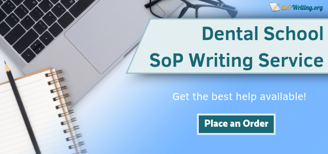 dental school statement of purpose writing