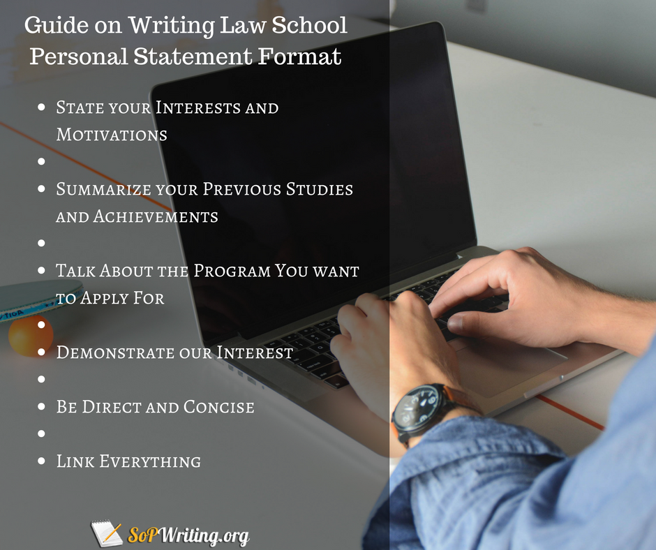 law school statement of purpose guide