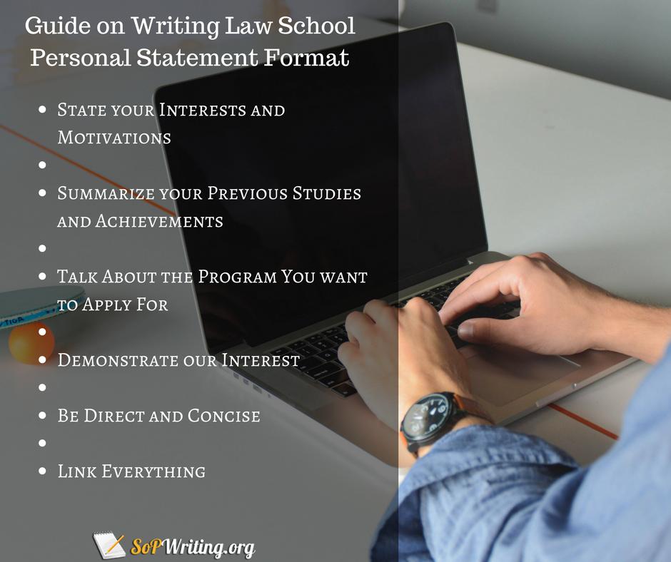 law school statement of purpose guide