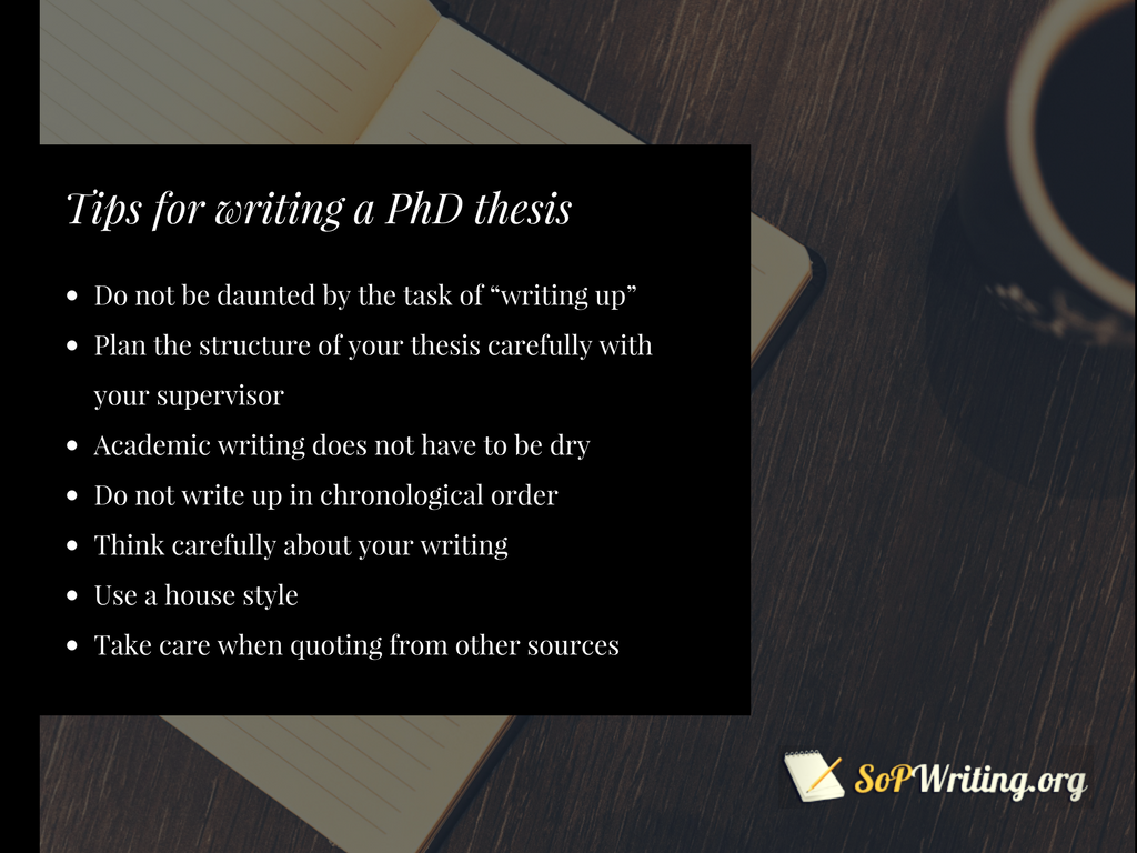statement of purpose for phd tips