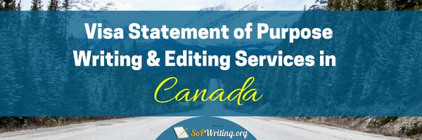 canada student visa statement of purpose services