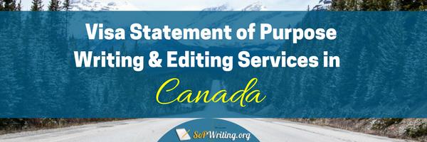 canada student visa statement of purpose services