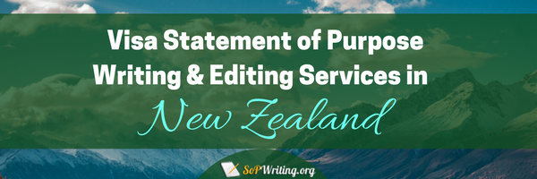 sop for new zealand visa services