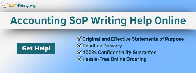 accounting statement of purpose writing online
