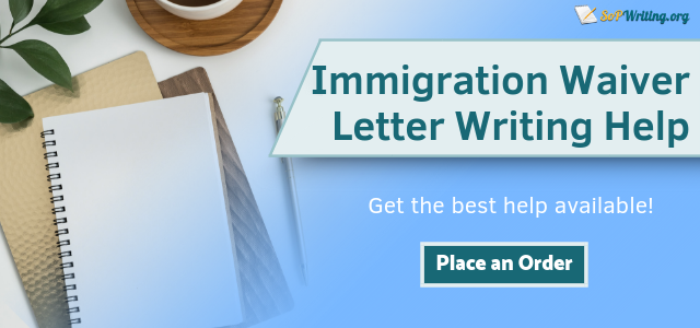 immigration waiver letter writing service