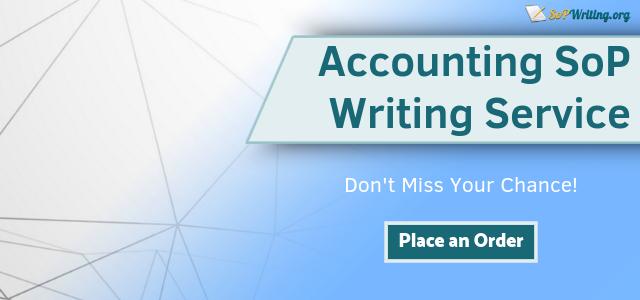 sop accounting writing service