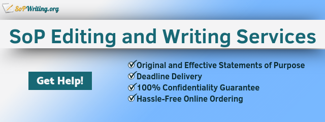 statement of purpose editing service