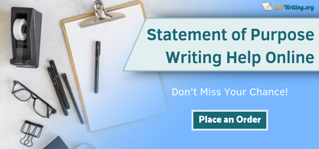 Goal statement writing services